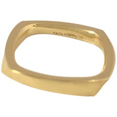 Tiffany & Co. Frank Gehry Yellow Gold Torque Ring