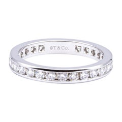 Tiffany & Co Full circle Diamond Eternity Band 1.00 Cts Ttl 'Rt 5200'