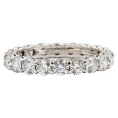 Tiffany & Co. Full Circle Round Diamond Embrace Band Ring 1.64 Carat Platinum