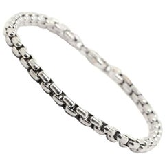 Tiffany & Co. Germany Men's 18 Karat White Gold Bracelet