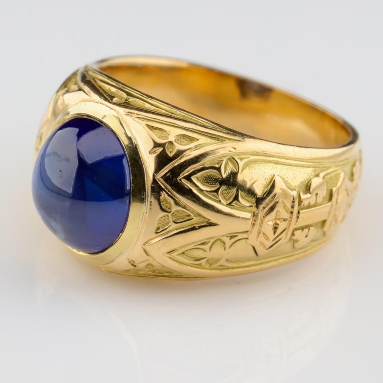 It's not every ring that gets photographed and featured in The New York Times but this one has been: