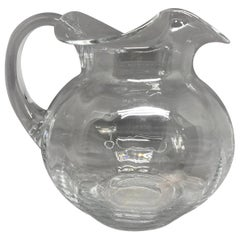 Tiffany & Co. Glass Pitcher
