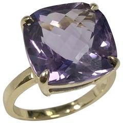 Tiffany & Co. Gold and Amethyst Sugar Stacks Ring
