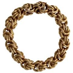 Tiffany & Co. Gold Byzantine Bracelet
