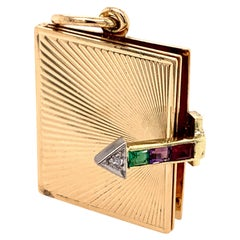 Tiffany & Co. Gold Dear Locket