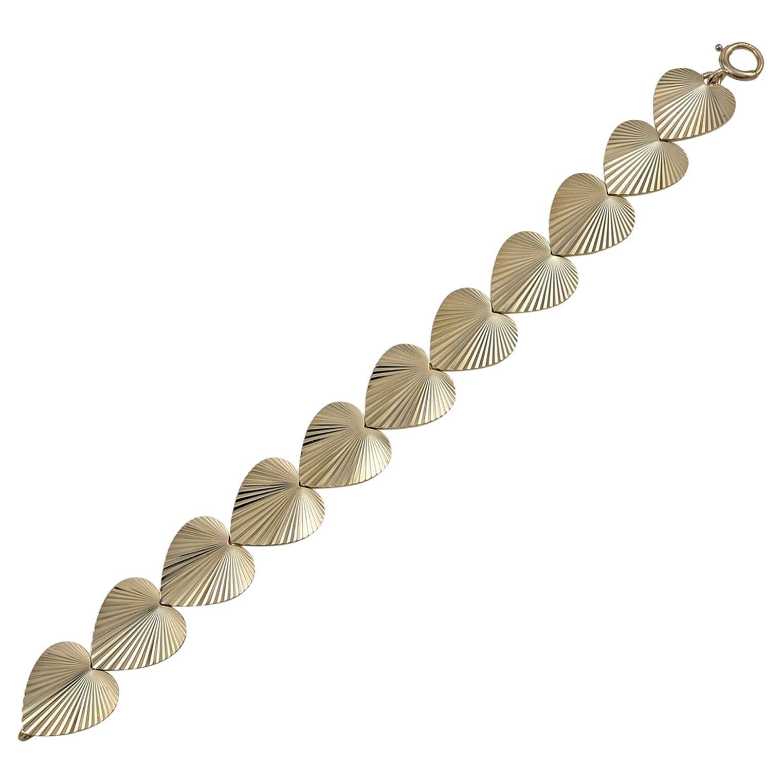 Tiffany & Co. Gold Heart Bracelet