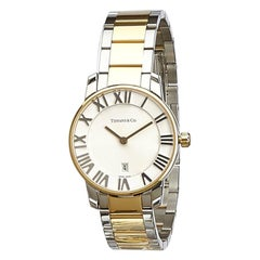 Tiffany & Co. Gold-Plated Stainless Steel Atlas Watch