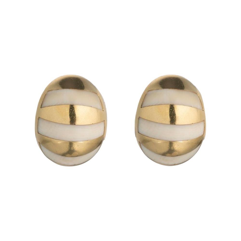 Tiffany & Co. Gold Stud Earrings