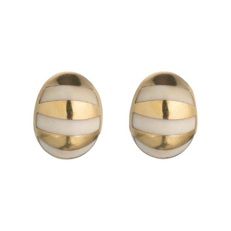 Tiffany & Co. Gold Stud Earrings For Sale