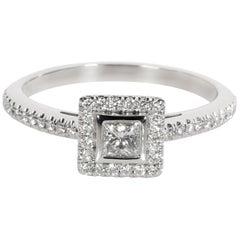 Tiffany & Co. Grace Princess Diamond Ring in Platinum 0.27 Carat