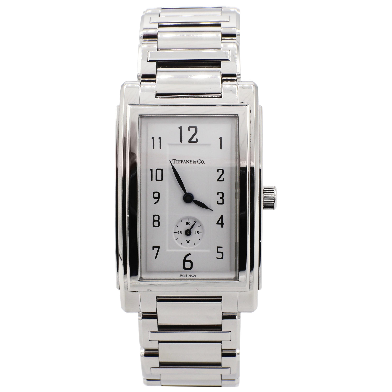 Tiffany & Co. Grand Quartz Resonator Quartz Stainless Steel Watch