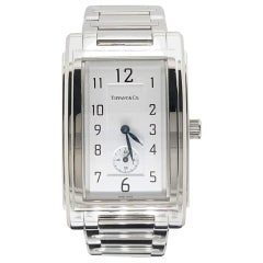 Tiffany & Co Grand Quartz Resonator Quartz Stainless Wristwatch