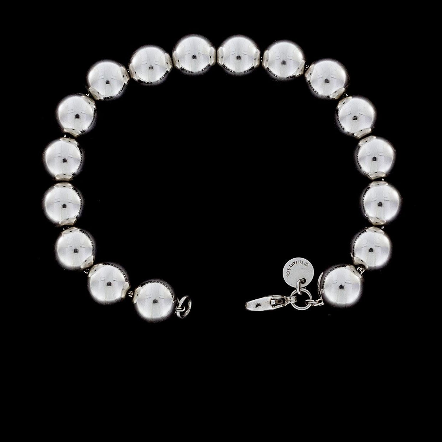 9c696a8c2 Tiffany and Co. Hardwear Sterling Silver Bead Ball Bracelet at 1stdibs