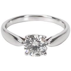 Tiffany & Co. Harmony Diamond Engagement Ring in Platinum 1.06 Carat H/VS1