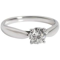 Tiffany & Co. Harmony Diamond Engagement Ring in Platinum F VVS2 0.55 Carat
