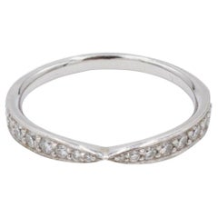 Tiffany & Co. 'Harmony' Platinum Diamond Band