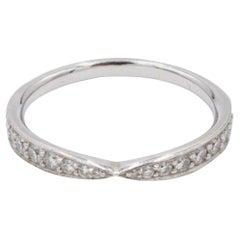 Tiffany & Co. 'Harmony' Platinum Diamond Band