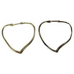 Tiffany & Co. Heart Shape Earrings by Peretti, circa 1980s
