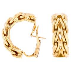 Tiffany & Co. Hoop Gold Earrings