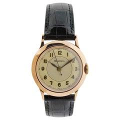 Tiffany & Co. I. W. C. Watch Company Rose Gold Manual Wind Watch