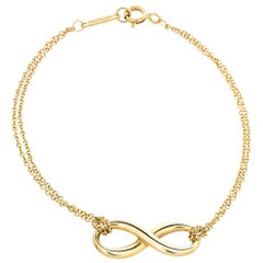 Tiffany & Co. Infinity 18K Yellow Gold Bracelet