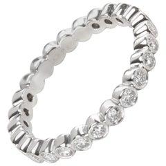 Tiffany & Co. Jazz Bezel Diamond Band in Platinum 3/4 Carat