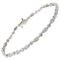 Tiffany & Co. Jazz Bracelet in Platinum '1.60 Carat'