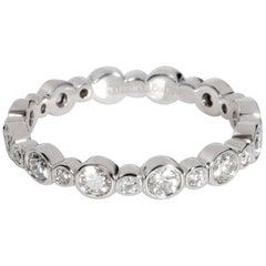 Tiffany & Co. Jazz Diamond Band in Platinum 0.62 Carat