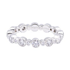 Tiffany & Co. Jazz Diamond Band with Bezels 0.66 Cts, in Platinum