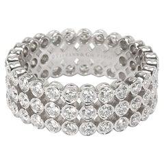 Tiffany & Co. Jazz Diamond Fashion Ring in Platinum 2.13 Carat