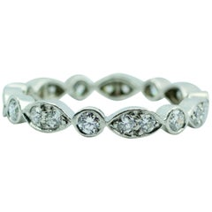 Tiffany & Co. Jazz Ring in Platinum with Diamonds