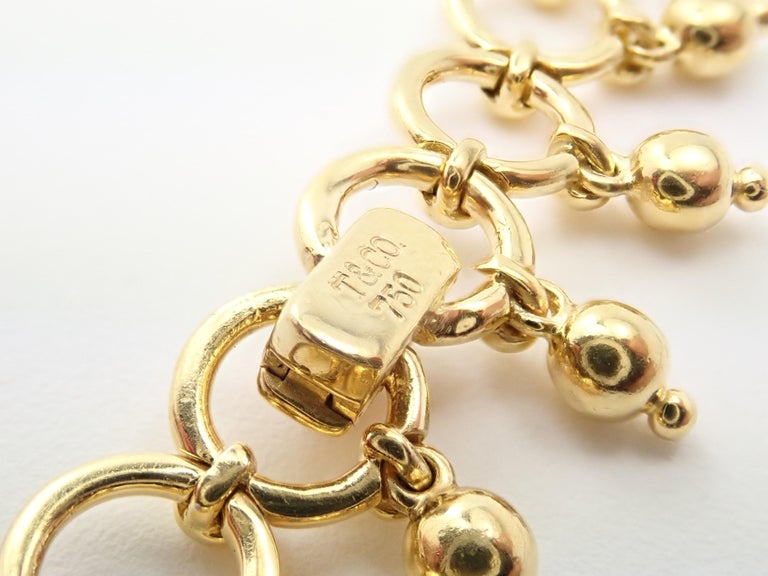 Tiffany & Co. Kashmir Yellow Gold Necklace For Sale 1