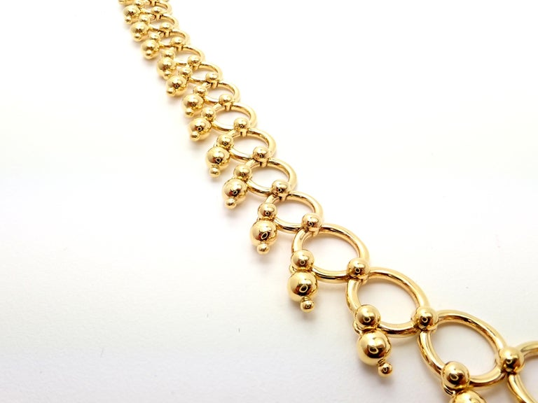 Tiffany & Co. Kashmir Yellow Gold Necklace For Sale 2