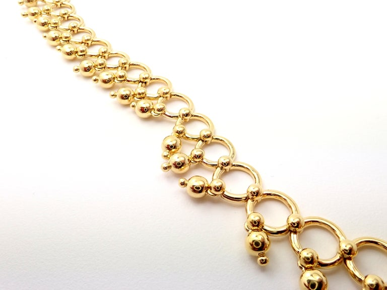 Tiffany & Co. Kashmir Yellow Gold Necklace For Sale 3