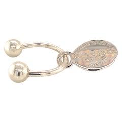 Tiffany & Co. Keychain Sterling Silver 925 TIF28
