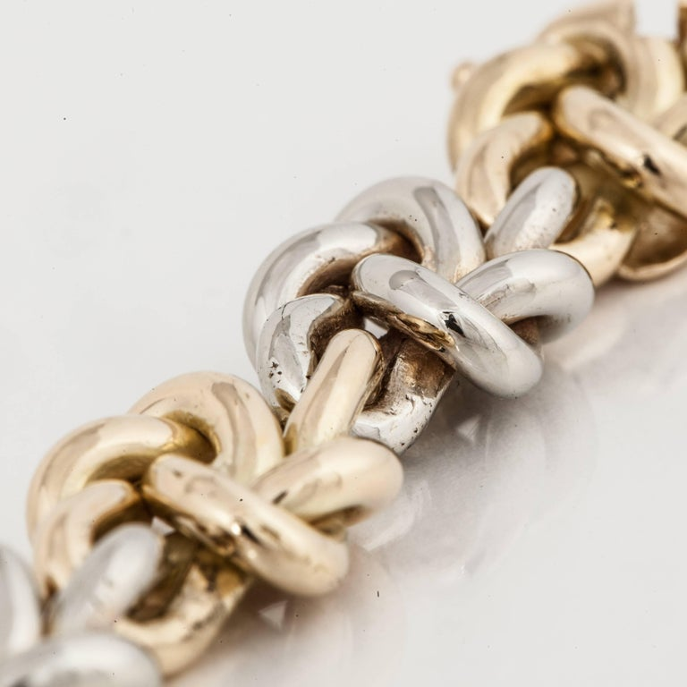 Tiffany & Co. Knot Bracelet In Excellent Condition For Sale In Houston, TX