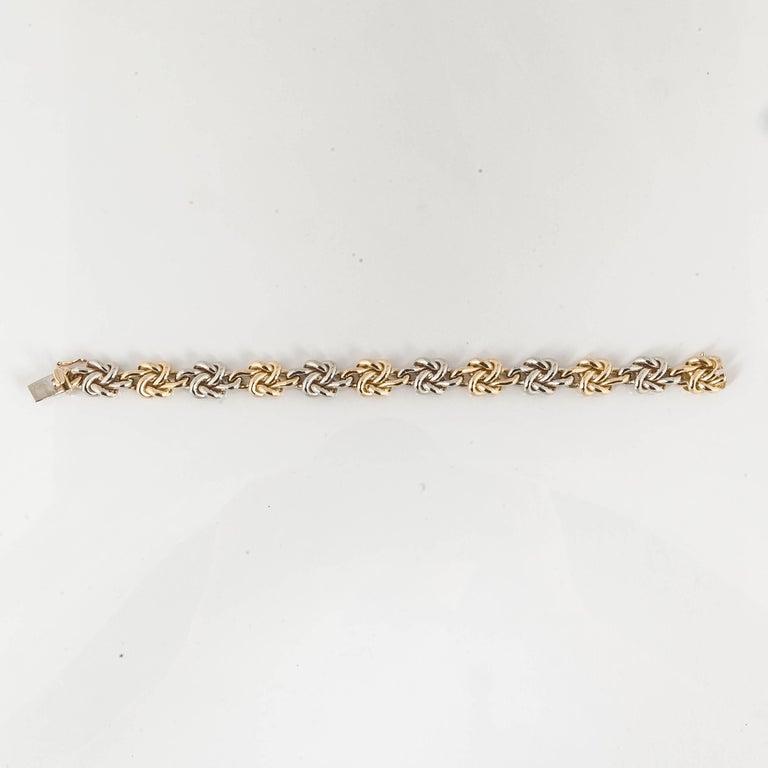 Women's or Men's Tiffany & Co. Knot Bracelet For Sale