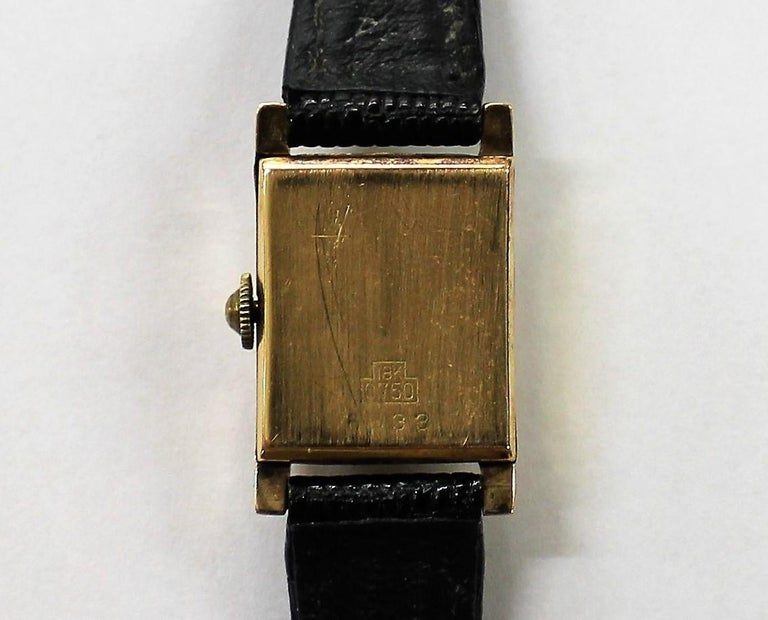 Tiffany & Co. Ladies 18-Carat Gold Watch For Sale 1
