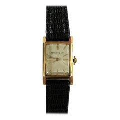Tiffany & Co. Ladies 18-Carat Gold Watch
