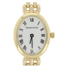 Tiffany & Co. Ladies Watch, 14 Karat Gold Mechanical 3 Jewels 2 Year Warranty