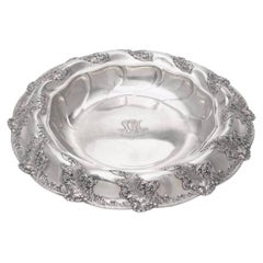 Tiffany & Co. Large 1895 Sterling Silver Centerpiece Bowl