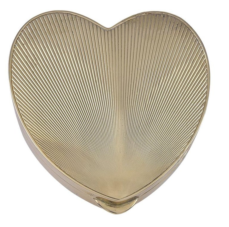 c7fb03ec967 Tiffany and Co. Large Gold Heart Box For Sale at 1stdibs