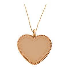 Tiffany & Co. Large Heart Necklace in 18 Karat Gold