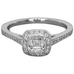 Tiffany & Co. Legacy 0.66 Carat Cushion Diamond and Platinum Engagement Ring