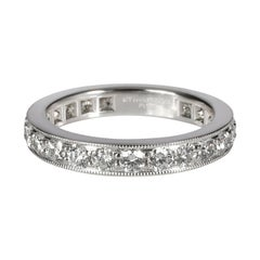 Tiffany & Co. Legacy Collection Diamond Eternity Band in Platinum 1.21 CTW