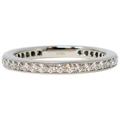 Tiffany & Co. Legacy Collection Diamond Eternity Band Ring in Platinum