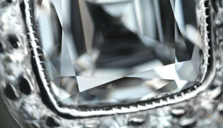 Tiffany & Co. Legacy Cushion Diamond Engagement Ring 1.54 Ct Total G VS2 Ex Cut For Sale 3