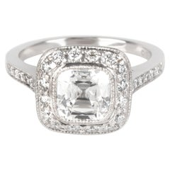 Tiffany & Co. Legacy Diamond Engagement Ring in Platinum G VS1 1.96 Carat