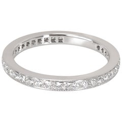 Tiffany & Co. Legacy Diamond Wedding Band in Platinum '0.57 Carat'