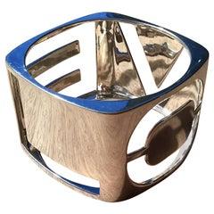 Tiffany & Co Love Era Sterling Silver Bangle Bracelet